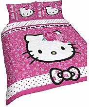 Hello Kitty Kinder/Mädchen Wende Bettwäsche