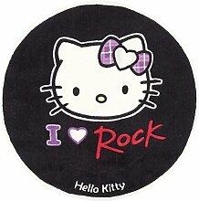 Hello Kitty Kinderteppich, Schwarz