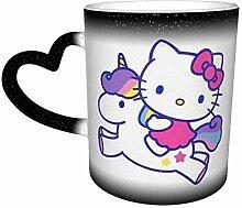 Hello Kitty mit Einhorn Sternenhimmel Farbwechsel
