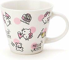 Hello Kitty mit Tasse A4CHIRASHI 718734Sanrio