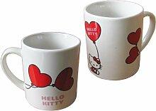 Hello Kitty Porzellan Tasse / Becher: Balloon