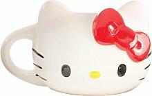 Hello Kitty Sculpted 18 oz Ceramic Mug