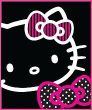 Hello Kitty Silhouette Hundedecke, aus Fleece,