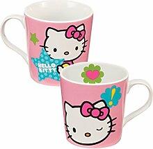 Hello Kitty Stars Keramik Kaffee Tasse 12Oz Katze Schleife Geschenk
