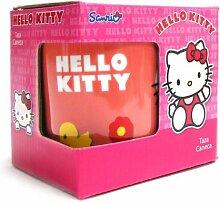 Hello Kitty Tasse Red Cat Kaffeetasse Rote Katze Becher Frühstücksbecher Kinder Tasse 0,3l