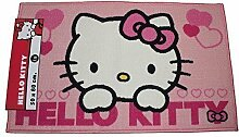 Hello Kitty Teppich Rosa Liebes Herzen 50x80cm
