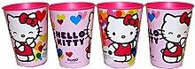 Hello Kitty Trinkbecher Saftbecher Becher 4er Se
