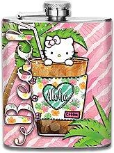 Hello Kitty Weinflasche, 200 ml, Edelstahl,