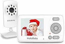 HelloBaby Babyphone mit Kamera und Audio,