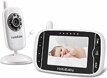 HelloBaby Video Babyphone mit Kamera und Audio |