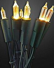 Hellum 560527Light Decoration Chain Indoor 50lamp (S) LED Green–Decoration Lighting (50Lamp (S), LED, Warm White, Light Decoration Chain, Green, 3m)