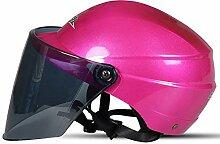 Helm Elektrischer Motorradhelm Männer und Frauen