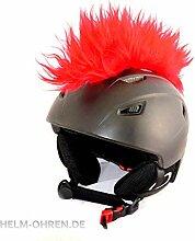 Helm-Irokese für den Skihelm, Snowboardhelm,