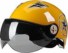 Helm Motorräder Männer Frauen Frühling Sommer