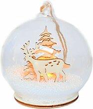 Helmecke & Hoffmann Glaskugel Weihnachtsbaumkugel