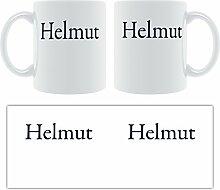 - Helmut Klassische Schrift mit Serifen-Becher,