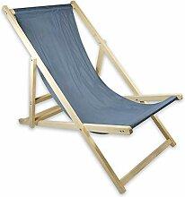 Helo Garten Strand Liegestuhl klappbar aus Holz