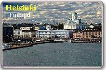 Helsinki/Finland/fridge/magnet. - Kühlschrankmagne