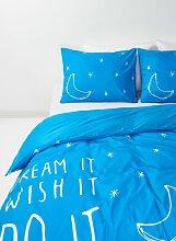 HEMA Bettwäsche - Baumwolle - Sterne Blau