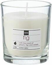 HEMA Duftkerze Im Glas, Fig