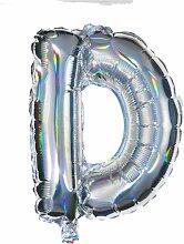 HEMA Folienballon D - Silber