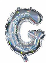 HEMA Folienballon G - Silber