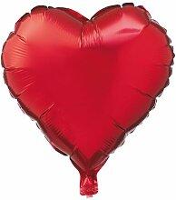 HEMA Folienballon Herz, 16 Cm