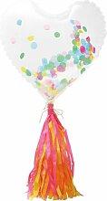 HEMA Folienballon Herz, 60 Cm