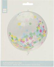 HEMA Folienballon Mit Konfetti, 50 Cm