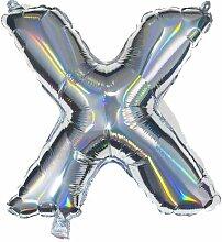 HEMA Folienballon X - Silber