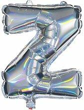 HEMA Folienballon Z - Silber