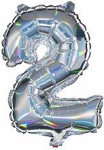 HEMA Folienballon Zahl 2
