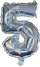 HEMA Folienballon Zahl 5
