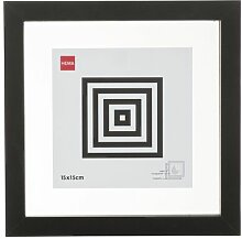 HEMA Magnet-Bilderrahmen - Holz - Schwarz 15 X 15