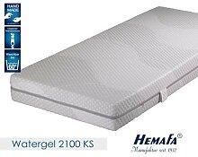 Hemafa Watergel 2100 7-Zonen-Kaltschaum-Matratze