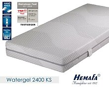 Hemafa Watergel 2400 7-Zonen-Kaltschaum-Matratze