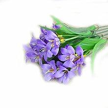 Hemore Künstliche Blumen Lilien Blumen