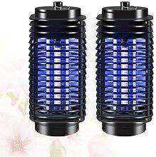 Hemoton 2 Stück Moskito-Killer-Lampe UV-Käfer