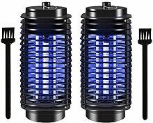 Hemoton 2Pcs Moskito-Killer-Lampe UV-Käfer Zapper