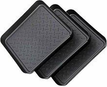 Hemoton 3 Stück Stiefel Tabletts Serviertablett