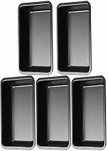 Hemoton 5 Stück Brotbackform Laib 5 Zoll