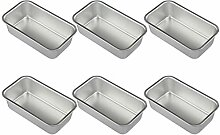 Hemoton 8 Stück Aluminiumlegierung Laib Dose