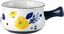 HEMOTON Französische Suppentasse Keramik