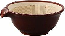 Hemoton Japanischer Küche Suribachi Schüssel