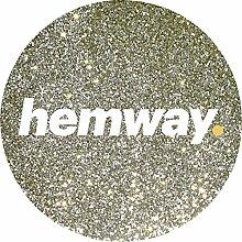 hemway Glitzer Metallic Boden Kristalle für Epoxidharz Böden & Glitzer Bodenbelag (500g)–Für Verwendung Mit den häuslichen, gewerblichen, industriellen Böden–Garage, Keller–Kann mit internen und externen Fußboden