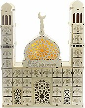 Henan Eid Mubarak Countdown Kalender DIY Ramadan