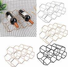 Henan Modernes Weinregal aus Metall mit