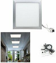 Hengda® 12w 2700K-3500K LED Panel Energiesparen Ultraslim Dünn Deckenleuchte Eckig Pendelleuchte Licht Decken Lampe Warmweiß Badezimmer Büros Wohnzimmer AC85V-265V