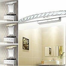 Hengda® 12W LED Kristalle Spiegelleuchte Badleuchte 3in1 Farbwechsel Badleuchte Schranklampe Aufbauleuchte Wandlampe Energie Sparen Spiegelschrank Leuchte
