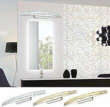 Hengda® 16W LED Kristalle Spiegelleuchte Badleuchte 3in1 Farbwechsel Badleuchte Schranklampe Aufbauleuchte Wandlampe Mit Schalter Energie Sparen Spiegelschrank Leuchte